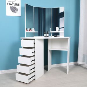 Makeup table vanity with Mirror Luxury Contemporary for Sale in Miramar, FL