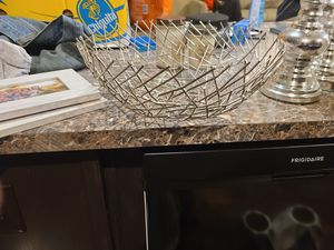 Metal fruit bowl for Sale in Cumberland, VA