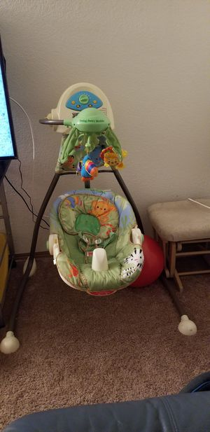 Fisher price baby cradle swing for Sale in Lake Grove, OR