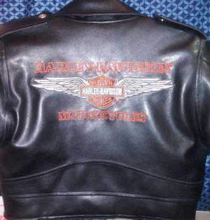 Kids' Harley Davidson Leather Jacket for Sale in Auburndale, FL
