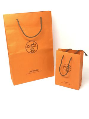 HERMÈS Shopping Bags Lot of 2 Small Large for Sale in Phoenix, AZ