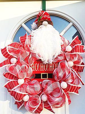 Santa Wreath for Sale in Inwood, WV