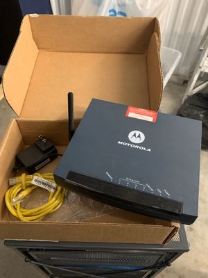 Motorola wireless modem router for Sale in Miami Beach, FL