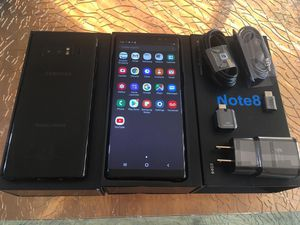 SAMSUNG GALAXY NOTE8 64GB FACTORY UNLOCKED EXCELLENT CONDITION!!! for Sale in Des Plaines, IL