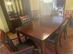 Dining Room Breakfront and Table for Sale in Millstone, NJ