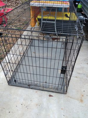 Extra large wire dog crate for Sale in Willis, TX