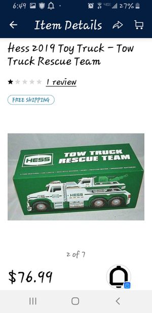Hess Truck for Sale in Oakland Acres, IA