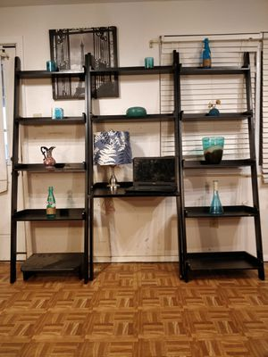 3 wooden shelves, pet free smoke free. for Sale in Annandale, VA
