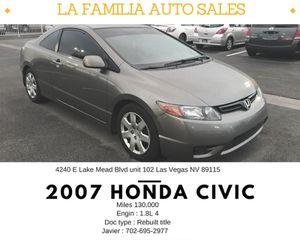 2007 Honda Civic for Sale in Las Vegas, NV