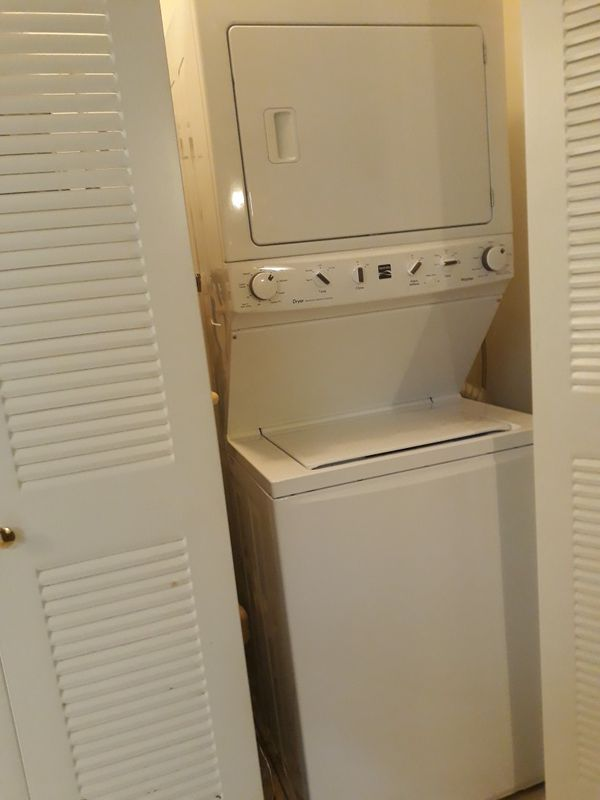 Kenmore Stackable Washer and Gas Dryer