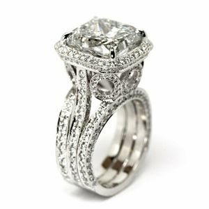 *NEW ARRIVAL* Princess Cut White Sapphire Ring SZ 8 / 9 / 9 1/2 *See My Other 300 Items* for Sale in Palm Beach Gardens, FL