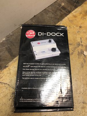 Pro audio di-dock for Sale in San Diego, CA