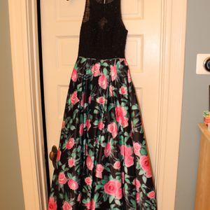 Camille La Vie Sparkly Top/floral Bottom Prom Dress for Sale in Oak Park, IL