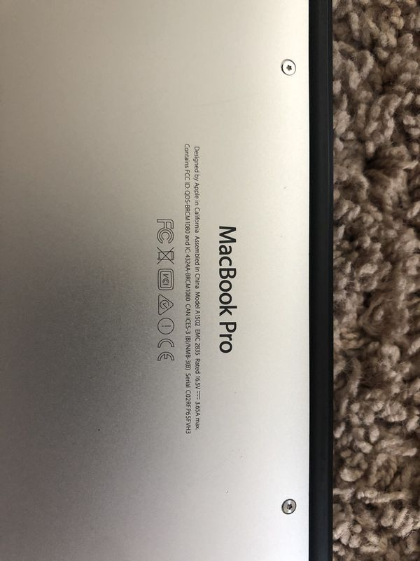MacBook Pro 2015