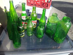Antique Green Bottles for Sale in Tennerton, WV