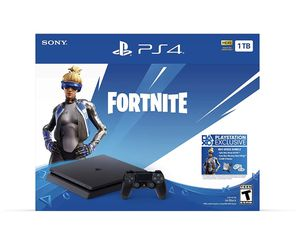 Sony PlayStation Slim 1TB Fortnite Neo Versa Gaming Console Bundle for Sale in Milpitas, CA