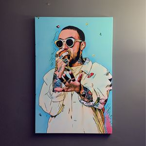 Mac Miller Canvas 24x36 for Sale in Naperville, IL