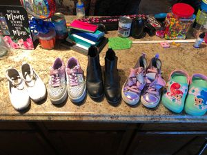 Girls size 1 shoes - all for $20 for Sale in Morgantown, WV