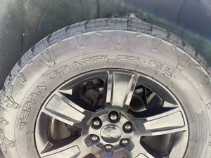 Nitto Terra Grappler G2 305/55R20 set of 4 tires no rims for Sale in Santa Maria, CA