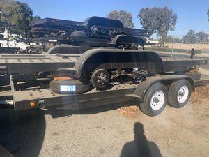 Brand new Carson Heavy Duty flat bed car hauler utility trailer 17' 10000 GVRW with E-Brake for Sale in Temecula, CA