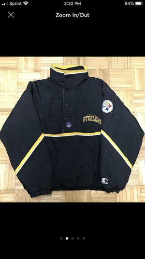 Vintage Pittsburgh Steelers Starter Jacket for Sale in Frederick, MD