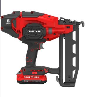 Craftman V20 16GA Straight Nailer for Sale in Galloway, OH
