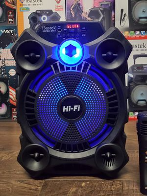 "Bocina Nueva Karaoke BLUETOOTH SPEAKER , ON SPECIAL 8"" Woofer , Karaoke Rechargeable 🔋+++ 🎤 MIC AND REMOTE for Sale in Los Angeles, CA"