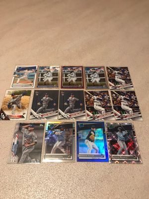 LA DODGERS vs TAMPA BAY RAYS 14 Card Lot for Sale in Olympia, WA