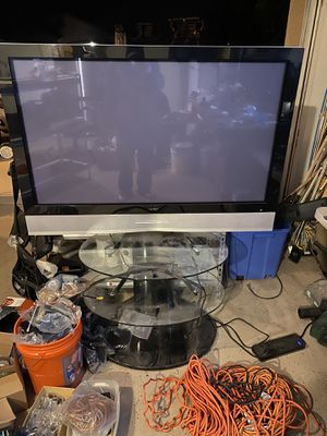 50 inch plasma Vizio with TV stand for Sale in Queen Creek, AZ