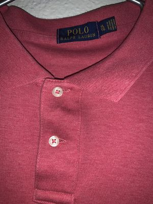 Polo Ralph Lauren red shirt for Sale in Ontario, CA