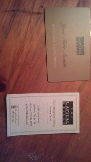 Gift certificate for Sale in Cleveland, OH