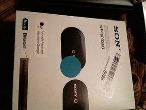Sony WF-1000XM3 Earbuds for Sale in Phoenix, AZ