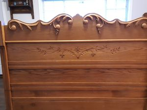 Antique Bedroom Set (Full Size No Matress) for Sale in Golden, CO