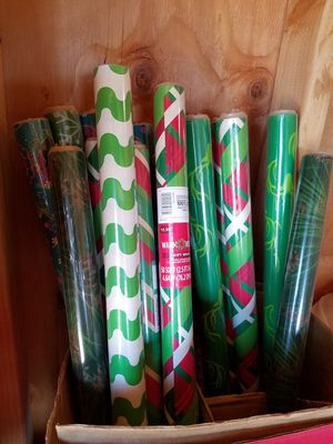 Brand new Christmas wrapping paper.$1.00 ea. for Sale in Hesperia, CA