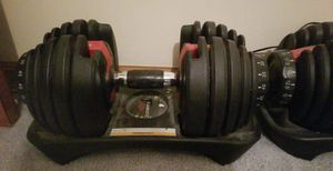 Bowflex adjustable weights for Sale in Cleveland, OH