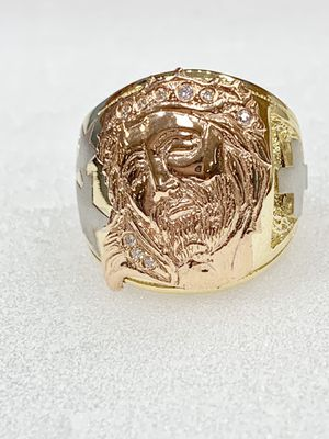 14 karat gold man ring made in Italy ( item # M99) for Sale in Houston, TX