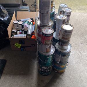 Free Paint And Stain for Sale in Dacula, GA