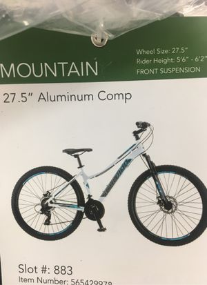 Schwinn 27.5 Aluminum Comp 21 Speed Mountain bike for Sale in Redford Charter Township, MI