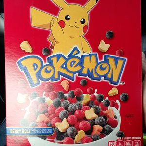 General Mills Pokemon Berry Bolt Cereal for Sale in Springfield, MA