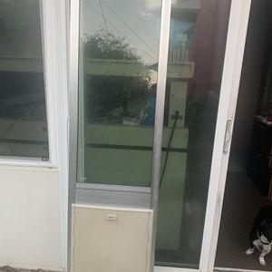 Sliding Door Dog Door for Sale in Milpitas, CA