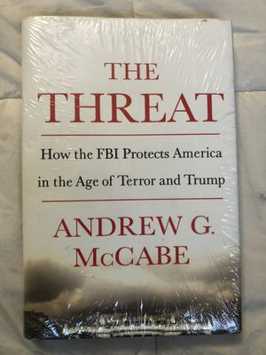 The Threat a book by Andrew McCabe for Sale in Hacienda Heights, CA