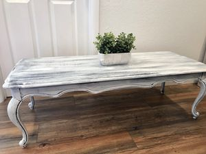 Refinished distressed look Basset brand coffee table for Sale in Glendale, AZ