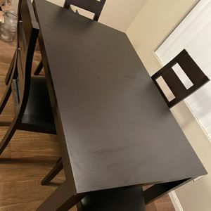 Dark Espresso Dining Table for Sale in La Mesa, CA