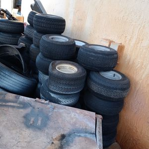 Golf Cart Wheels Complete Good Condition for Sale in Pompano Beach, FL