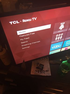 TCL Roku tv no remote for Sale in Hartford, CT