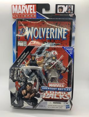 Marvel Universe Comic Packs wolverine figure toy for Sale in Queens, NY