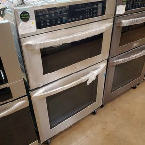 LG 30' Combination Wall Oven Stainless Steel for Sale in El Monte, CA