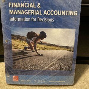 Financial & Managerial Accounting Information For Decisions for Sale in Clovis, CA