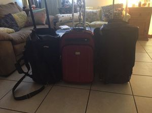 Rolling bags, luggage, duffle bag, rolling duffle bag for Sale in Tempe, AZ