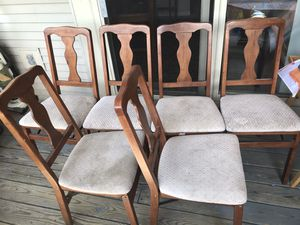 Wooden chairs for Sale in Dublin, OH